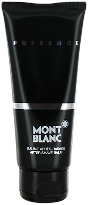 Presence By Mont Blanc For Men After Shave Balm 3.3oz New