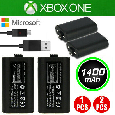For Microsoft XBOX ONE X S / Eliet Play USB Rechargeabl Battery & Charging Cable
