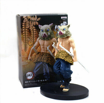 Demon Slayer: Kimetsu no Yaiba Inosuke Hashibira Figure 16CM Toy Doll New