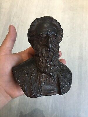 Rare William Booth Salvation Army Bronzed Bust By Mary Booth Free Uk Post