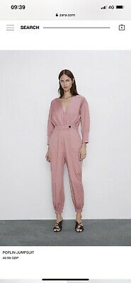 Zara Jumpsuit This Seasons, I've Worn It Once. Size Medium. Perfect Condition.