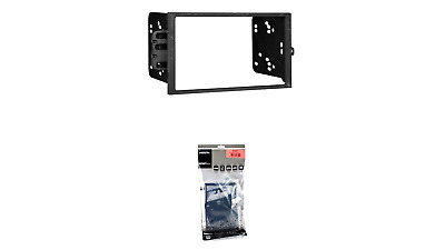 Metra 95-6532B Double DIN Dash Kit for 2015 Jeep Renegade Black