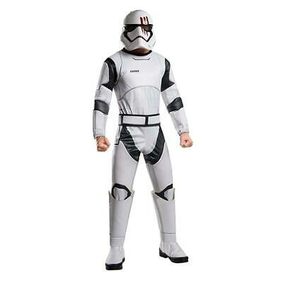 Star Wars The Force Awakens Deluxe Stormtrooper FN-2187 Adult Costume - X-Large