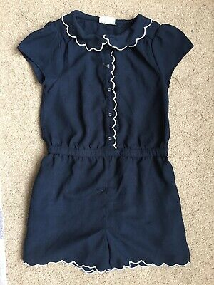Girls Smart Dressy Navy Blue Playsuit From Next Age 7 Years