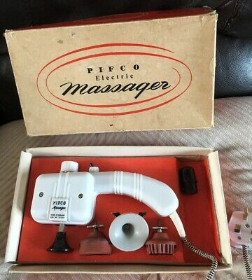 PIFCO VIBRATORY MASSAGER VINTAGE 1960'S WORKING Boxed Good Condition