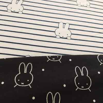 Miffy – Organic Cotton Spandex Jersey REMNANTS