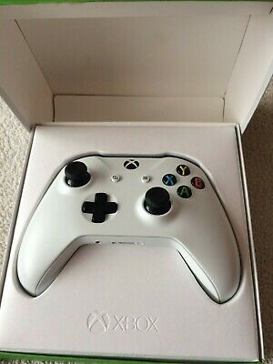 Official Microsoft Xbox One Wireless Controller 3.5mm - White