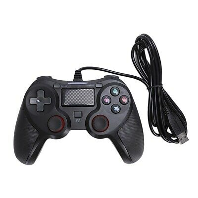 1X(for PC/PS4/PS3 Smart USB Wired Game Controller,Vibration Gamepad JoysticC6C7)