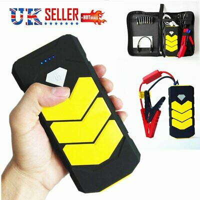 Portable Car Jump Starter Kit Power Pack Booster Battery Charger Power Bank 600A