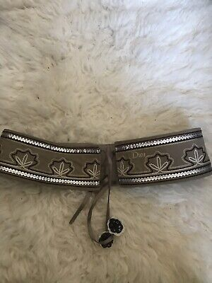 Christian Dior Girls Belt Size 10a