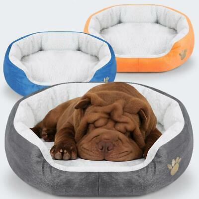 Small Pet Dog Cat Bed Puppy Cushion House Pet Warm Dog Mat Sale Kennel Hot C4J0
