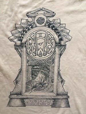Dawes Band Shirt 'Clock', Beige, Unisex, Men's Small, Free Shipping