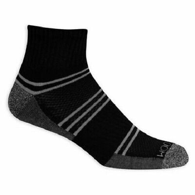 Fruit of The Loom Mens Breathable Cushioned Ankle Socks Size 6-12 Large 8-Pair