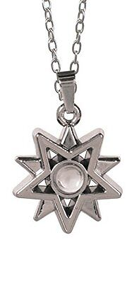"I AM BLESSED Starburst Magnifier Pendant on 20"" Chain, by AngelStar 13886"