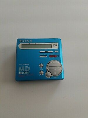 Sony MZ R 70 Blue MD Minidisc Recorder (Very Good)