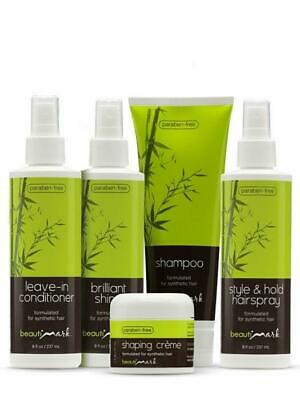 Beautimark Hair Care System 5 PIece Care System for Synthetic Hair