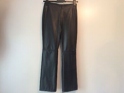 Girls Faux Leather Trousers 11/12yrs BNWOT