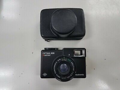 AGFA Optima 535 Made in Germany + case works