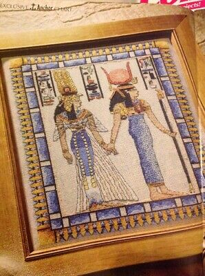 (N) Land Of The Pharaohs Ancient Egypt Sampler Cross Stitch Chart