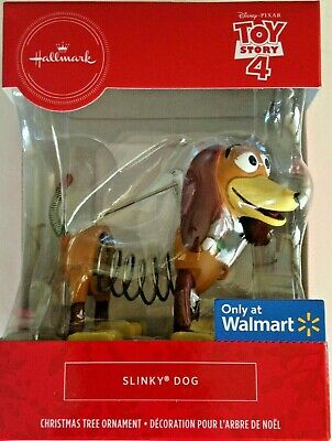 Hallmark 2019 Slinky Dog Disney Toy Story 4 Christmas Ornament MIB