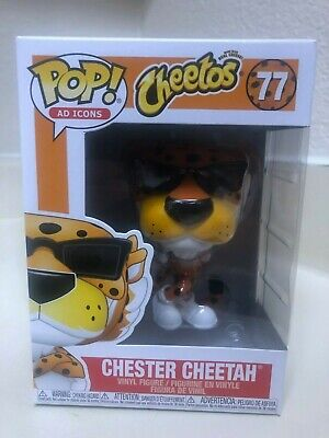 Funko Pop! Ad Icons: Cheetos Chester Cheetah #77 IN HAND! Free Shipping!