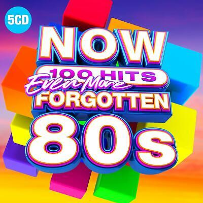 Various - NOW 100 Hits Even More Forgotten 80s (5 discs) (CD 2019)  new cd
