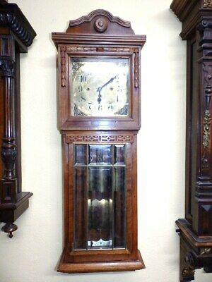 Grand Sonnerie  3 Weight Wall Clock Junghans For Parts Or For A Restauration