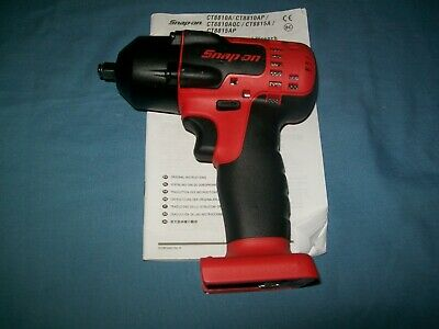 """New Snap-on™ 3/8"""" drive 18 V MonsterLithium Cordless Impact Gun CT8810B ToolOnly"""