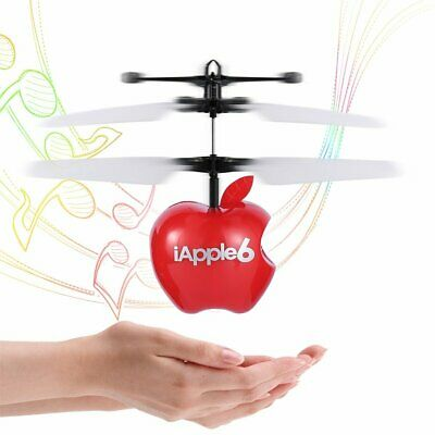 RC LED with Music Flying Ball Induction Helicopter Infrared Sensor Toy Kids Gift