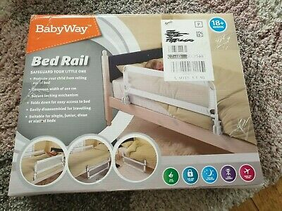 Childs bed guard rail
