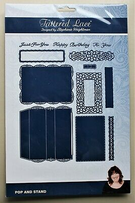 Tattered Lace Pop And Stand Die Set 453320 plus free P & P