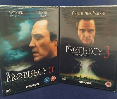 The Prophecy 2 and The Prophecy 3,  DVDs Horror Christopher Walken new & sealed