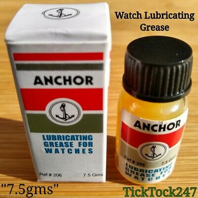 Lubricating Grease For Mechanical Wrist & Pocket Watch,Mainspring, Service.