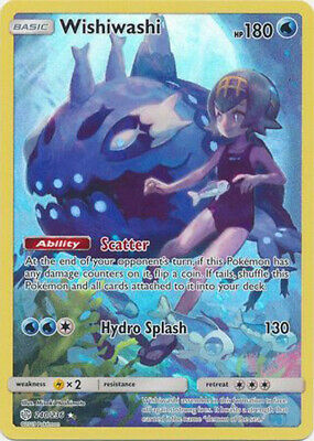Pokemon SM - Cosmic Eclipse Wishiwashi (Secret) 240/236 Secret Rare NM