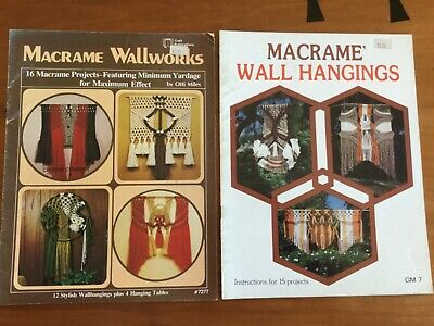 Macrame Wallworks by Otti Miles & Macrame Wall Hangings by Jackson & Hendrix
