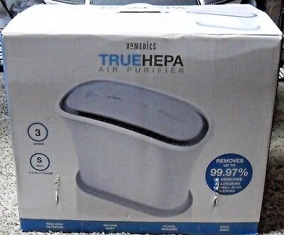HoMedics TRUEHEPA Air Purifier ( White )