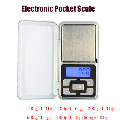 Pocket 200g/0.01g Electronic Digital Scale Jewelry Gold Balance Weight Gram LCD