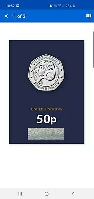2019 UK Wallace and Gromit CERTIFIED BU 50p