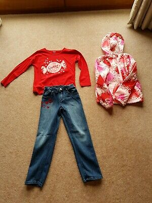 Gymboree 3 Piece Little Sweetie Outfit Bought In Usa Age 7-8 Autumn Winter