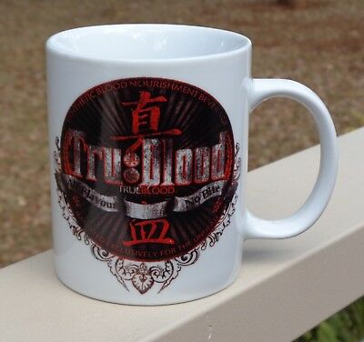 True Tru Blood  'All Flavour No Bite'  Coffee Mug *HBO Ikon Collectables 2011