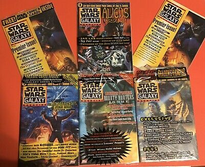 Star Wars Galaxy Magazine Lot, Includes 2 Premier Issues