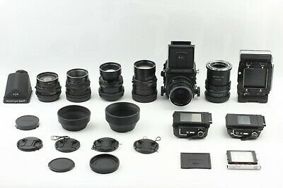 5Lens [Near Mint] Mamiya RB67 Pro S w/ 65 90 140 180 250mm from Japan 1752