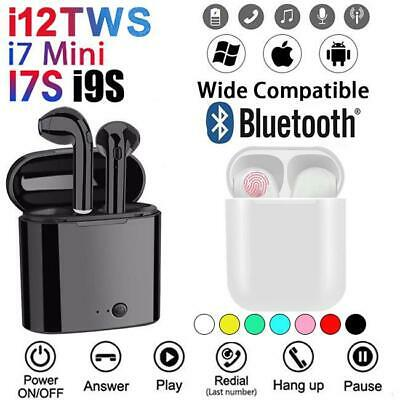 i12 TWS Wireless Headphones Bluetooth 5.0 Earbuds Earphones For iphone Android