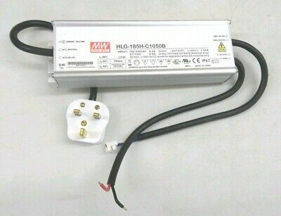 LED Driver HLG-185H-36A 100-240V 187w Mean Well D3