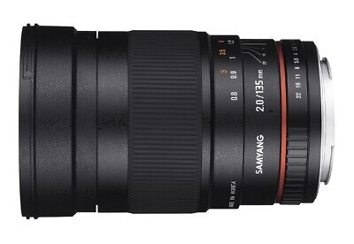 Samyang 135mm F2.0 ED UMC Telephoto Lens Canon Fit