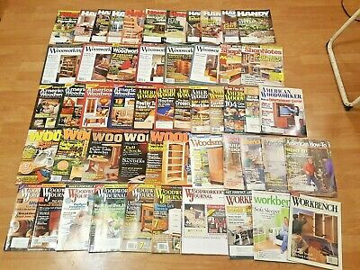 52 Preowned Issues of Woodworking * Handyman * Magazines