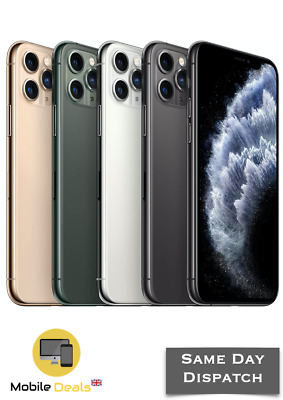 Apple iPhone 11 Pro & iPhone 11 Pro Max 64GB - 256GB - 512GB Unlocked Smartphone