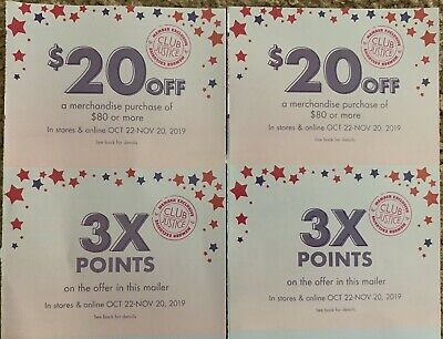 2 Justice Style Perks Coupons - $20 Off $80 Or More In Store & Online Exp 11/20