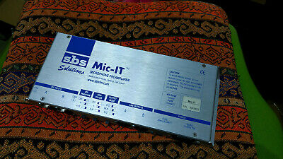 2 Channel Dual Microphone Preamplifier SBS Solutions Mic-IT With Mid + Side Mode