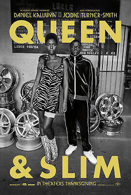 New Queen & Slim Movie 2019 Daniel Kaluuya Poster 24x36 27x40 X-948
